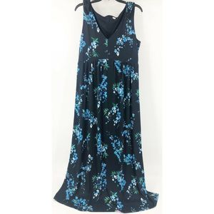 T Tahari Floral V-Neck Dress 10